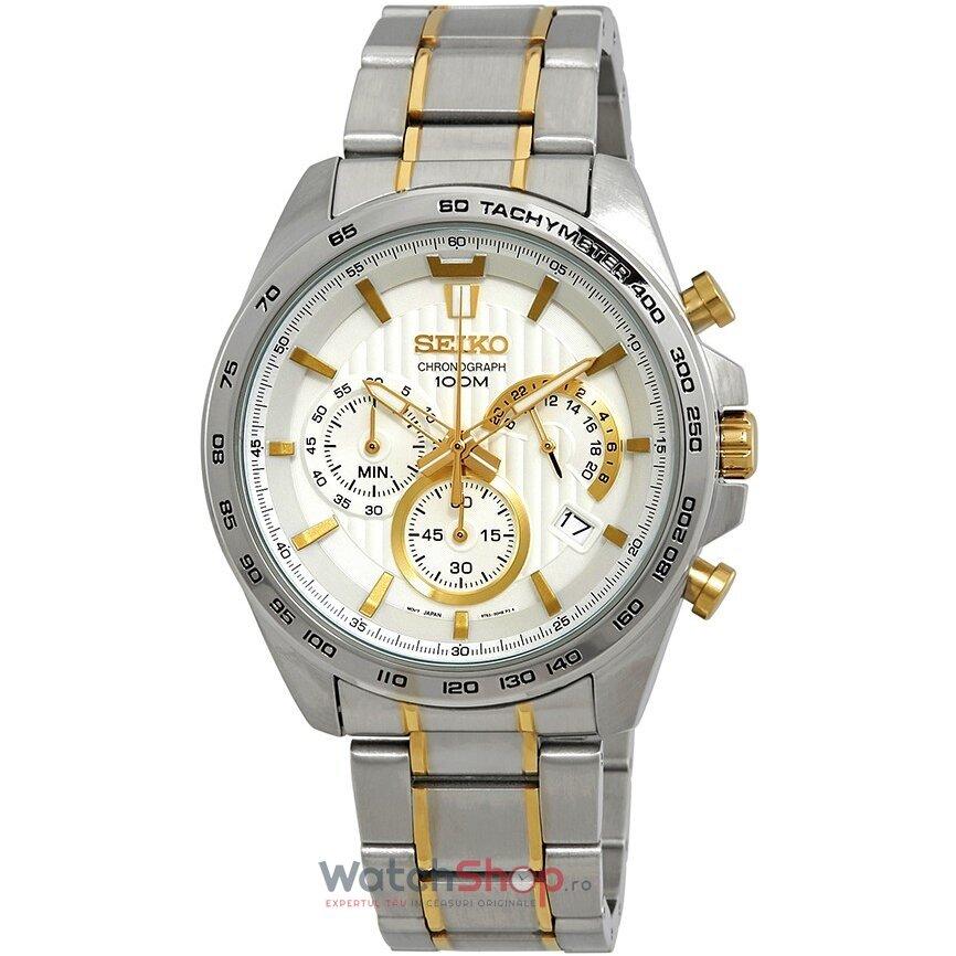 Ceas Seiko Sports SSB309P1 Cronograf original pentru barbati
