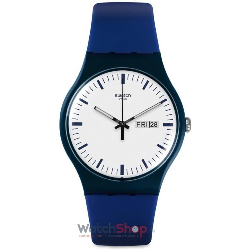 Ceas Swatch ORIGINALS SUON709 Bellablu original pentru barbati