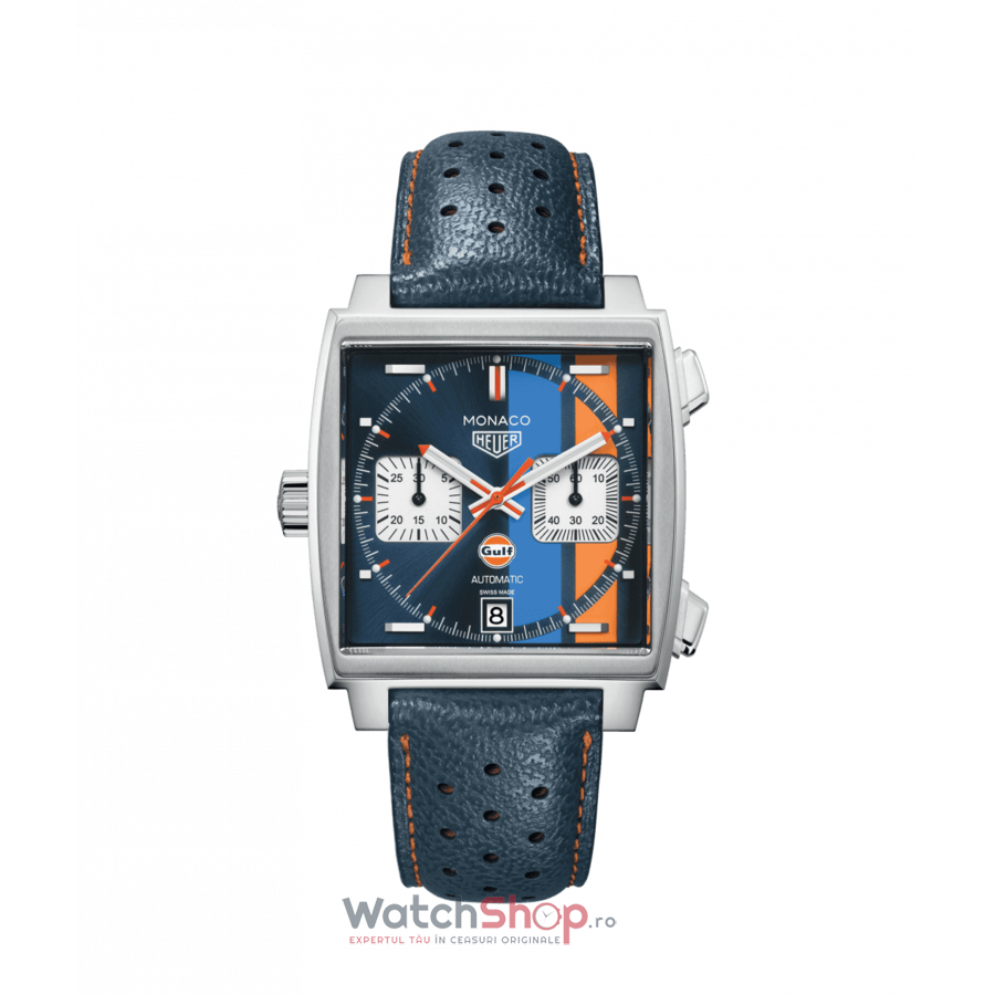 Ceas TAGHeuer MONACO CAW211R.FC6401 Gulf Special Edition original pentru barbati