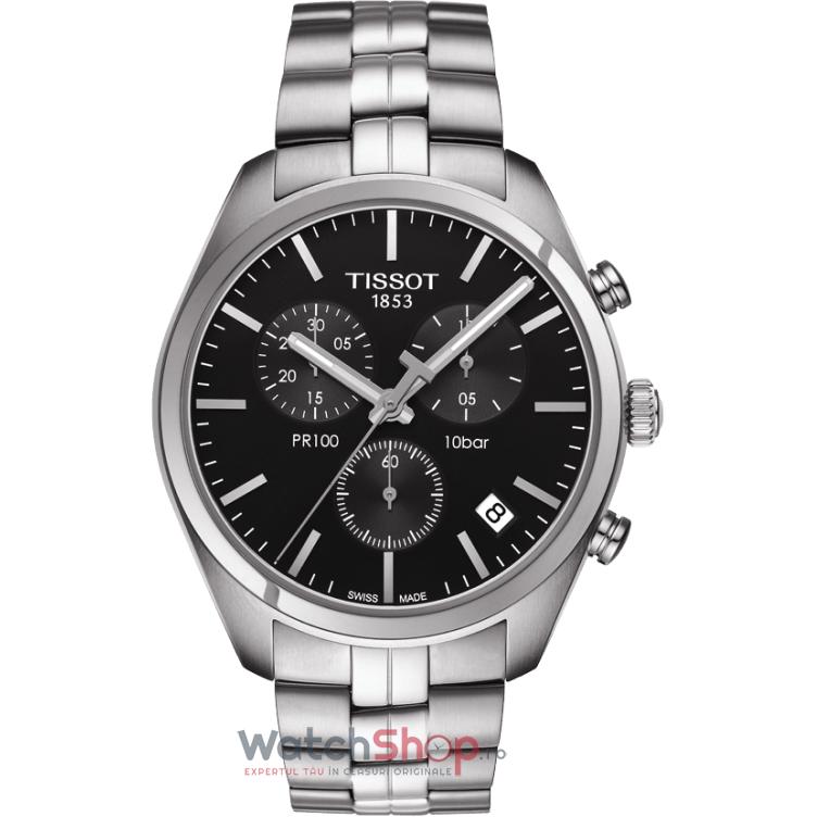 Ceas Tissot T-CLASSIC T101.417.11.051.00 PR 100 Cronograf original pentru barbati