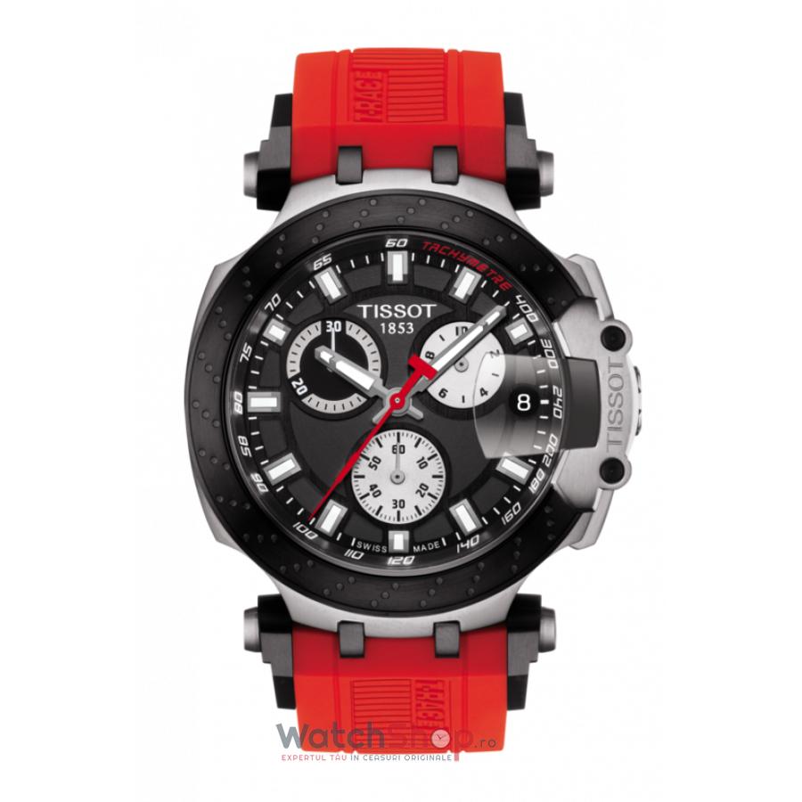 Ceas Tissot T-Race T115.417.27.051.00 Cronograf original pentru barbati