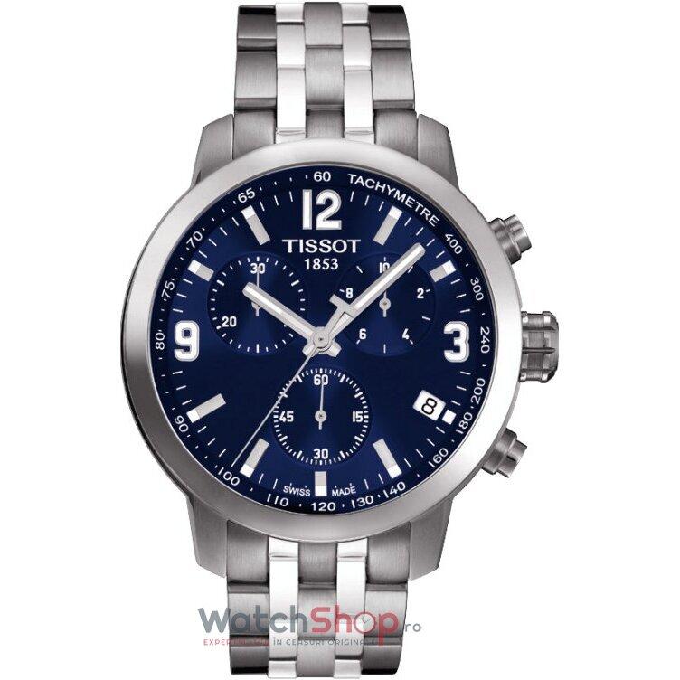 Ceas Tissot T-SPORT T055.417.11.047.00 PRC 200 Blue original pentru barbati