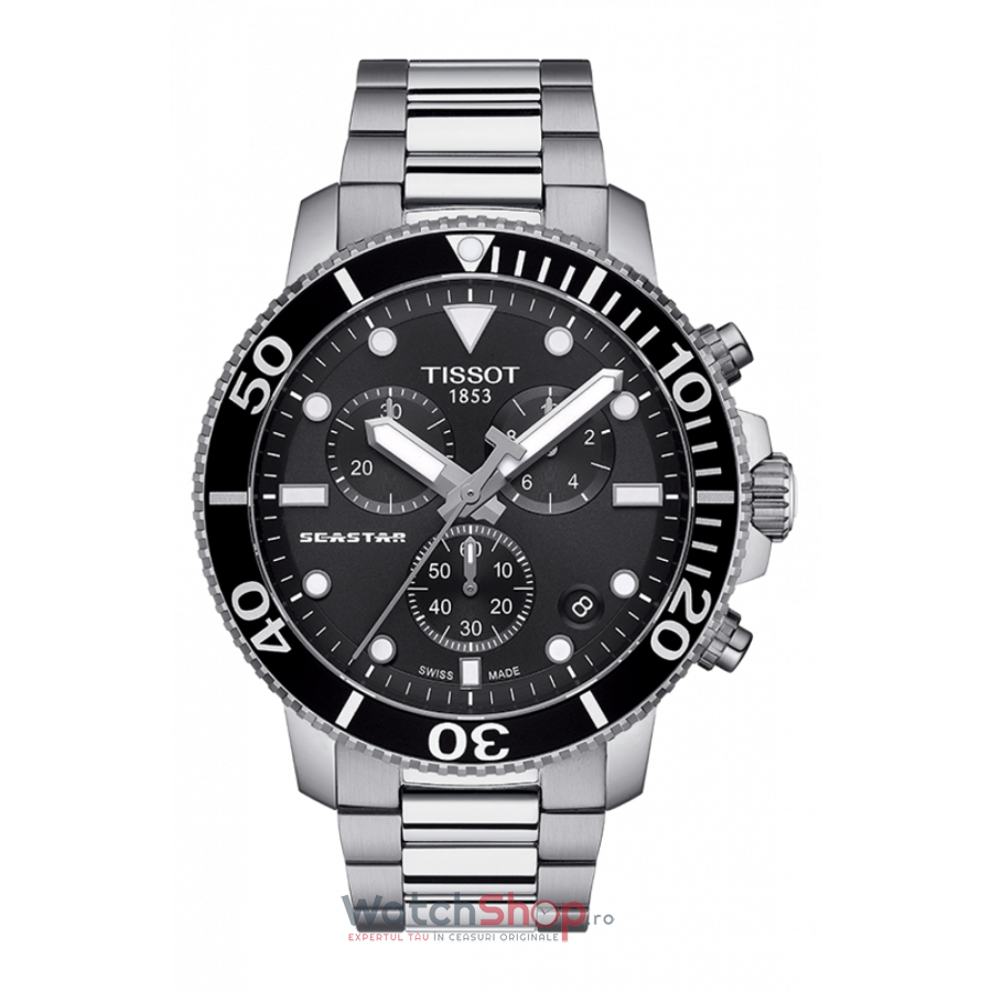 Ceas Tissot T-Sport Seastar 1000 T120.417.11.051.00 Cronograf original pentru barbati