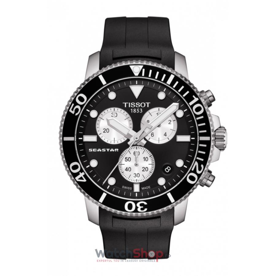 Ceas Tissot T-Sport Seastar 1000 T120.417.17.051.00 Cronograf original pentru barbati