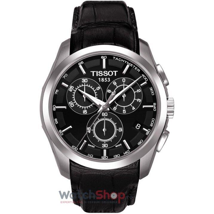 Ceas Tissot T-TREND T035.617.16.051.00 Couturier original pentru barbati